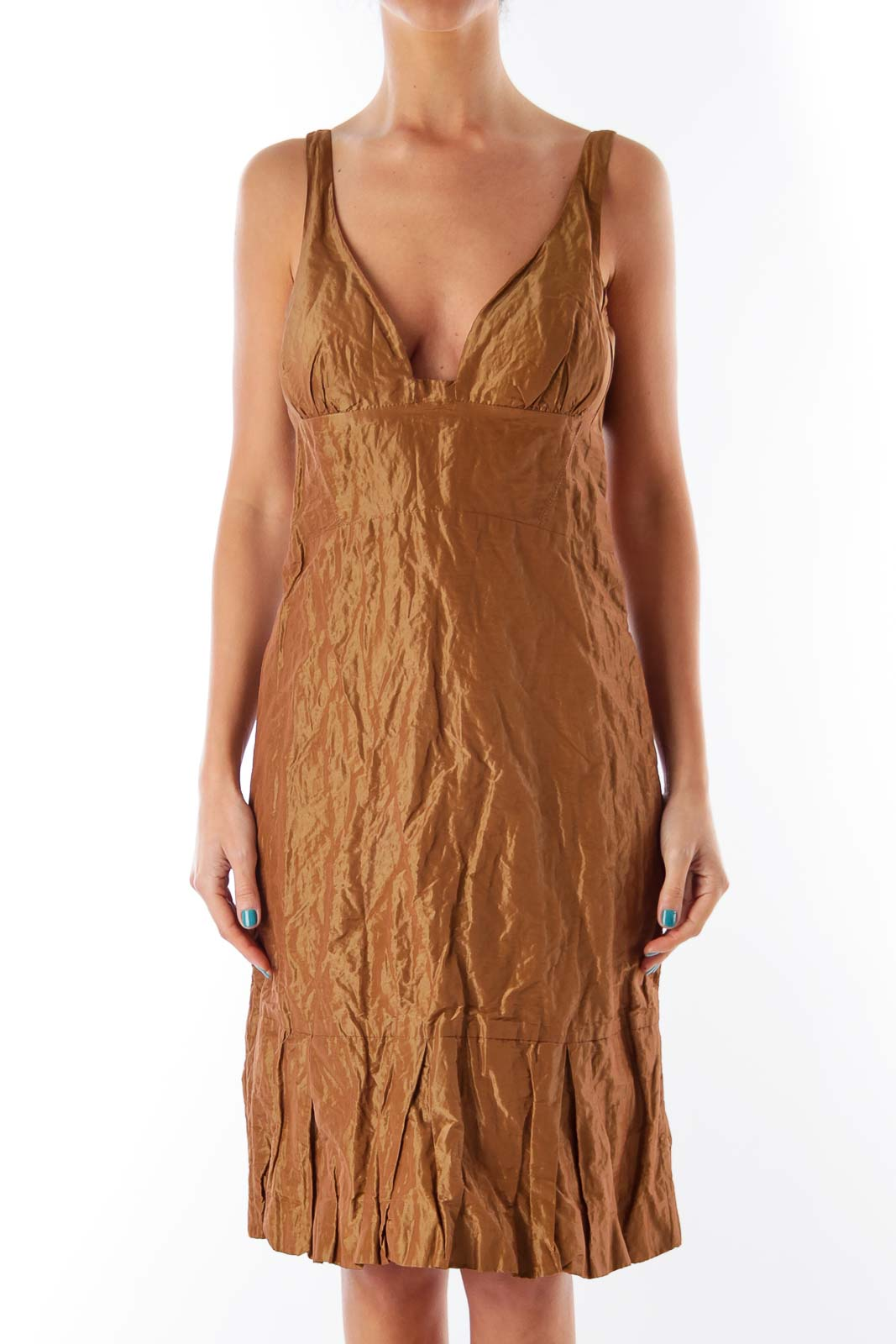 Bronze Balone Dress Front