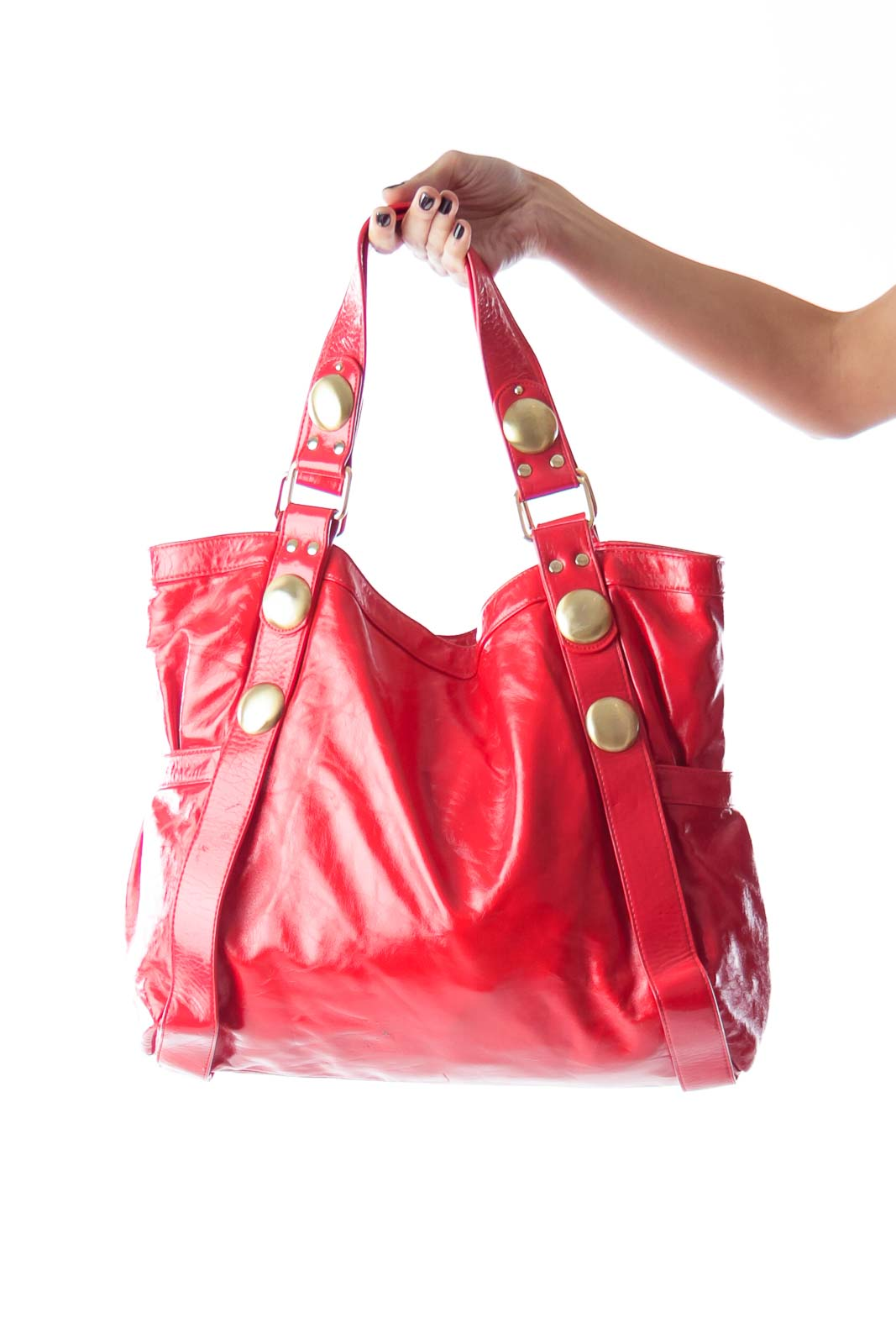 Red Varnish Big Bag Front