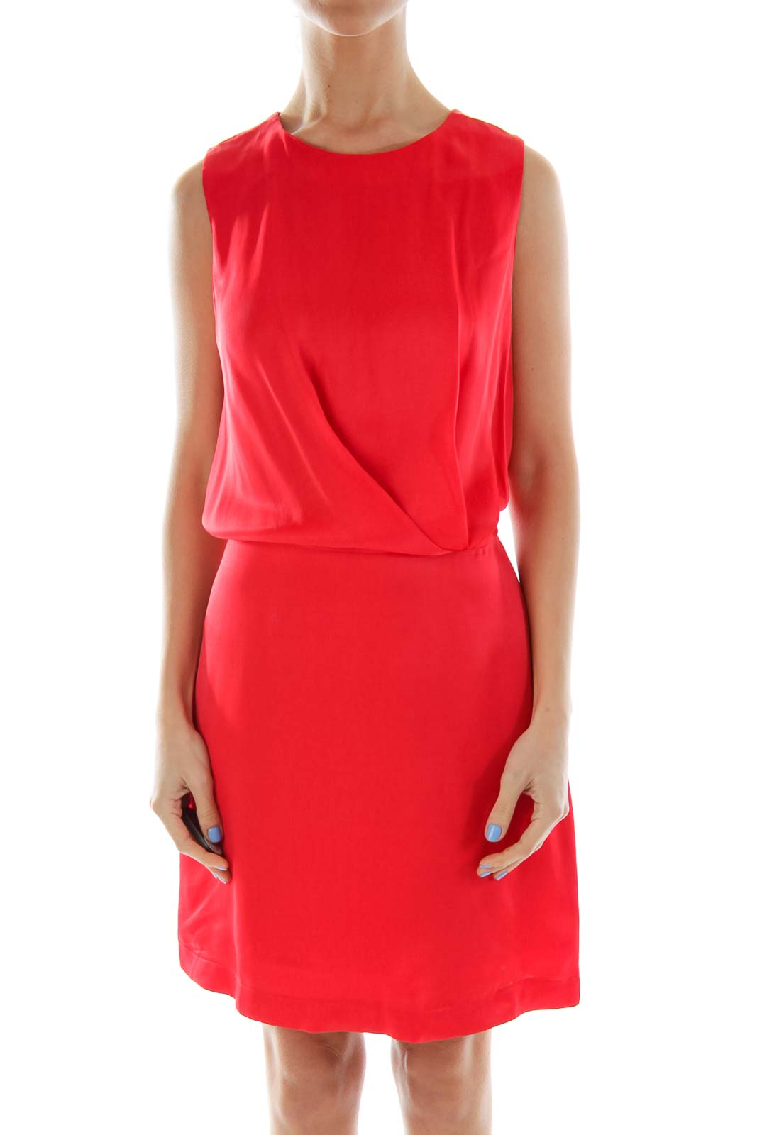 Red Cocktail Dress Front
