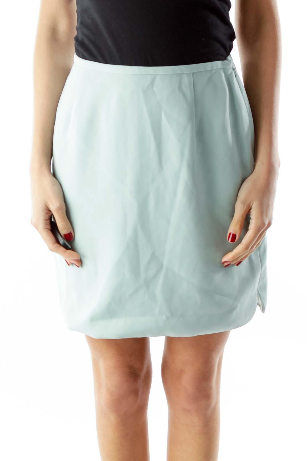 Mint Suit Skirt Front