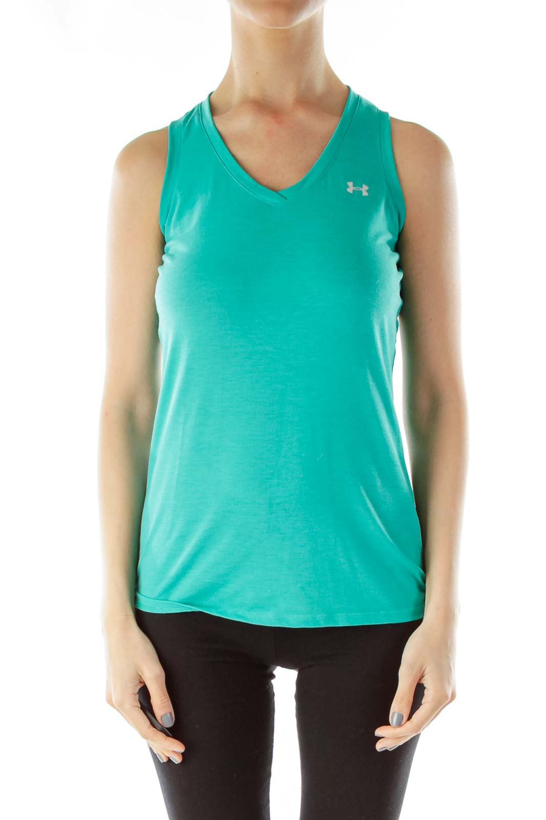 Green Tank Top Front