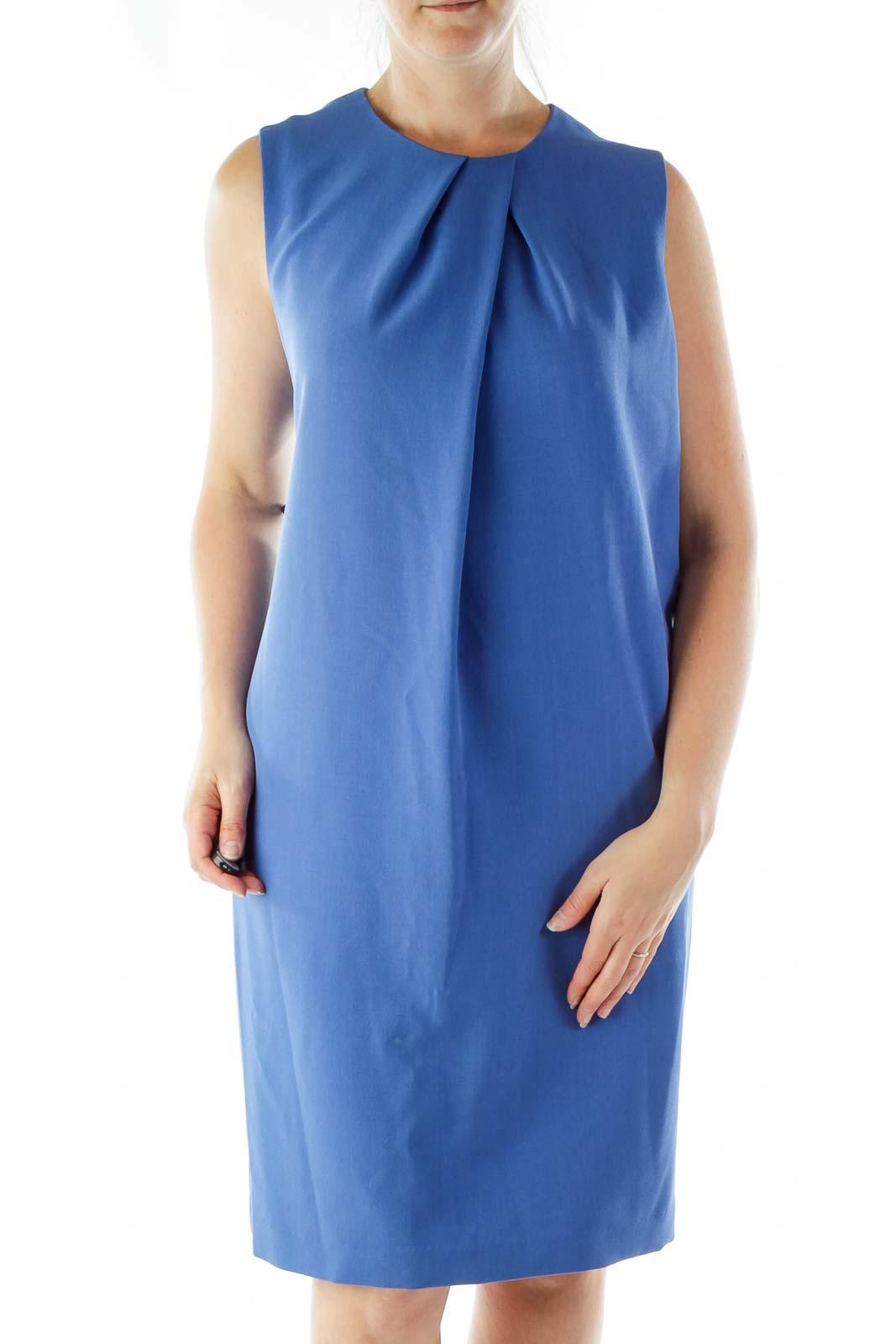 Blue Tent Dress Front