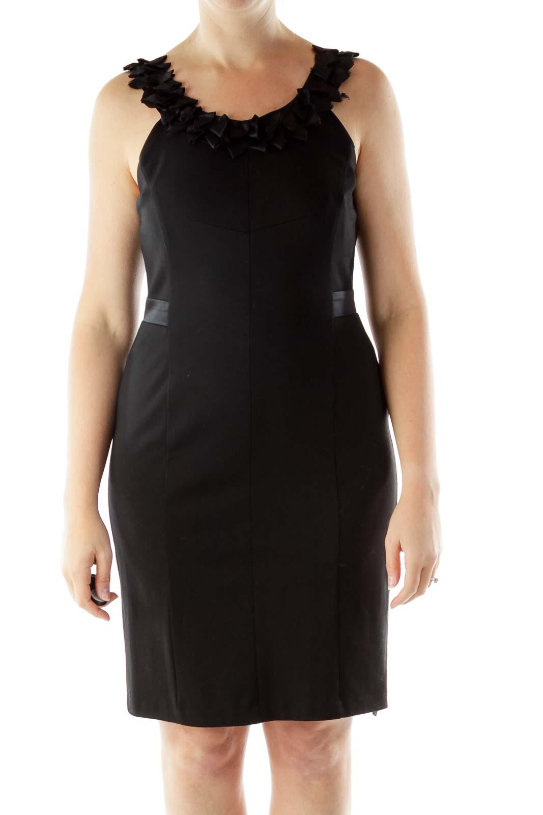 Black Cocktail Dress Front