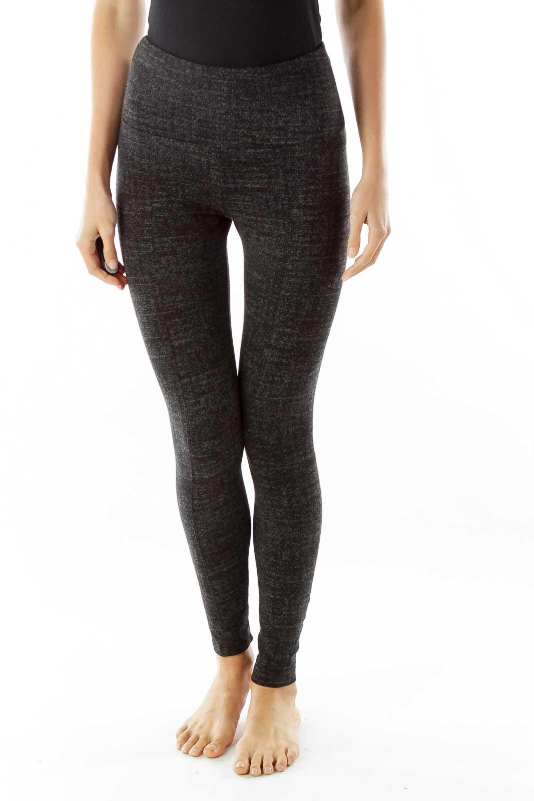Gray Yoga Pants Front