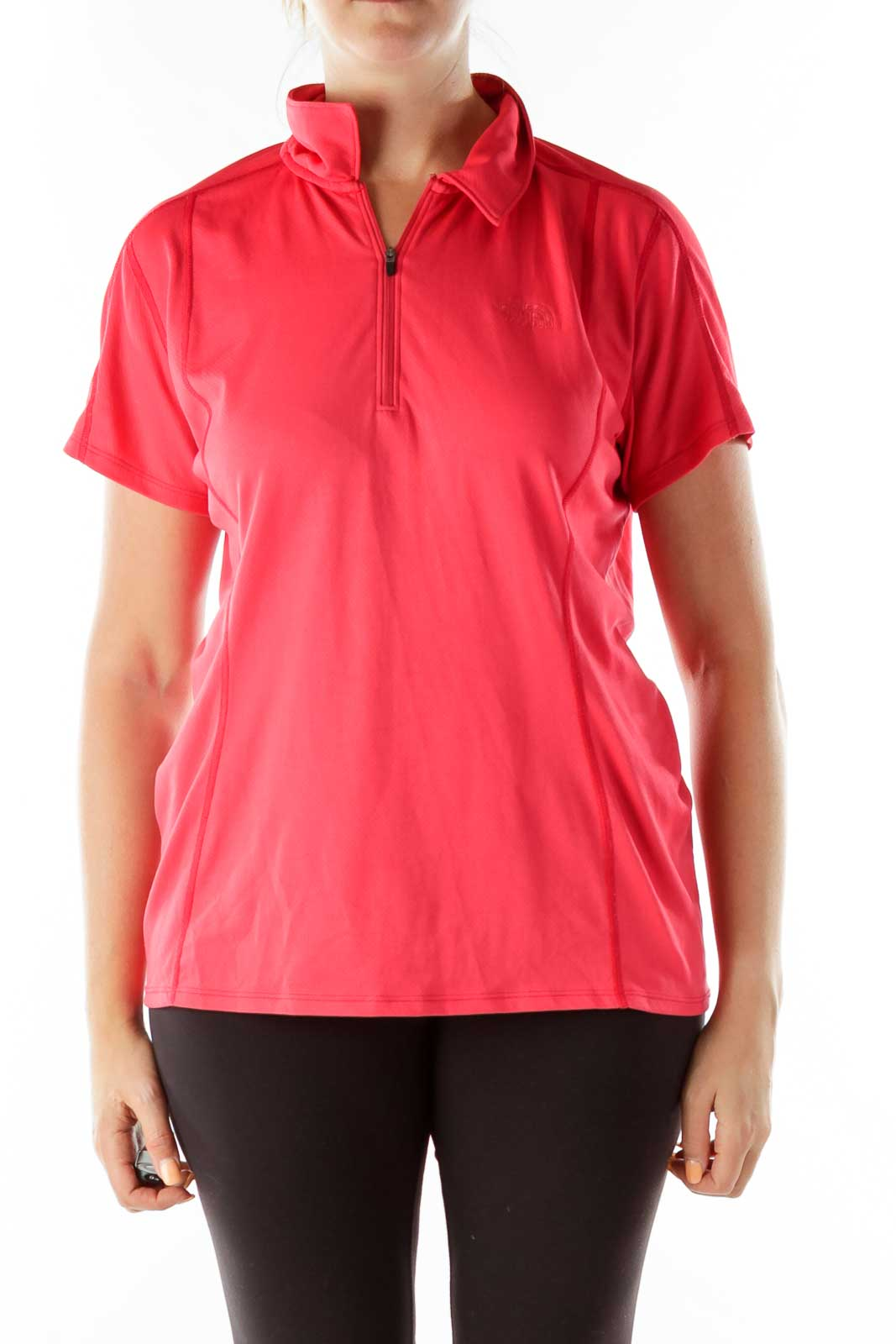 Red Sports T-Shirt Front