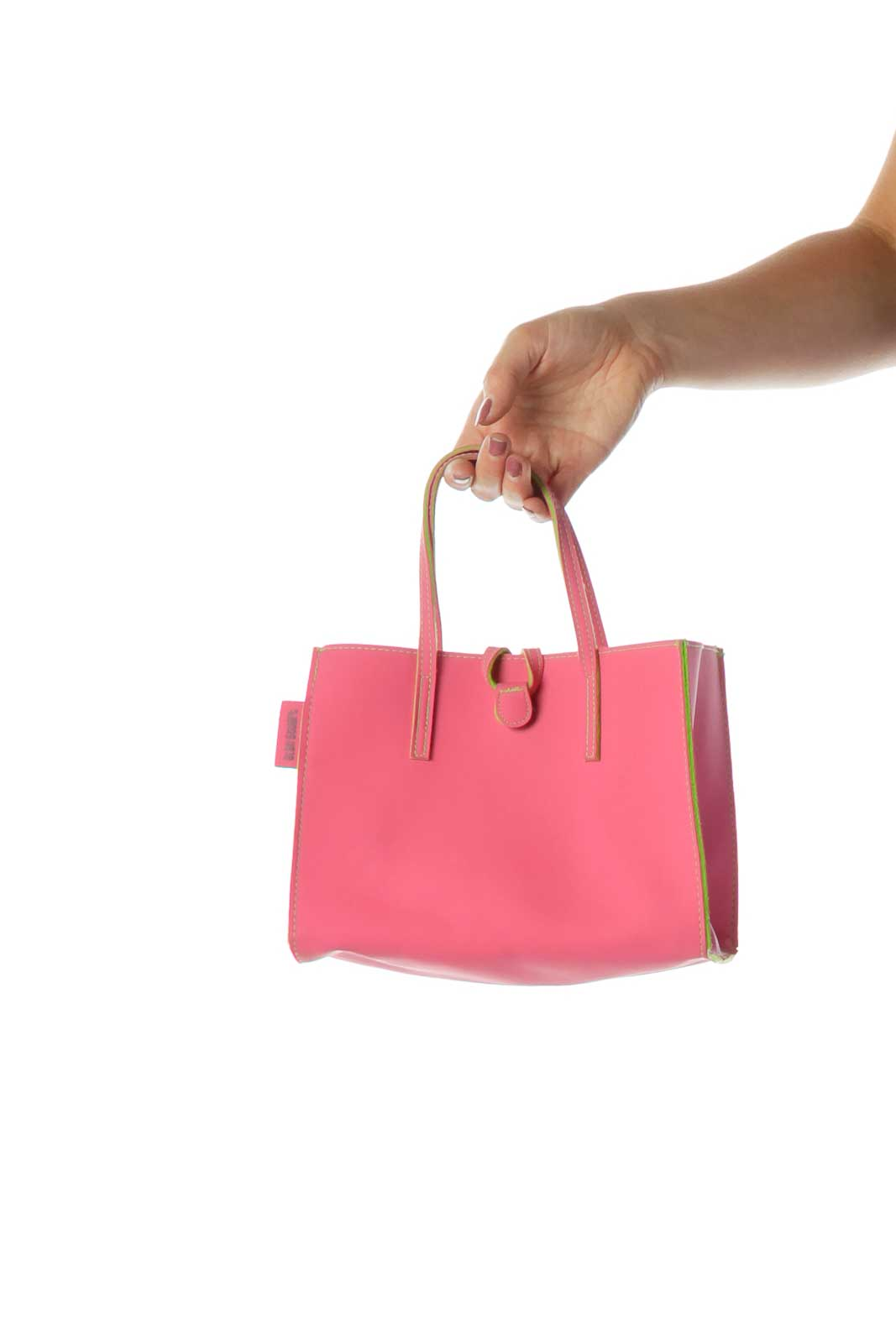 Pink Green Mini Tote Front
