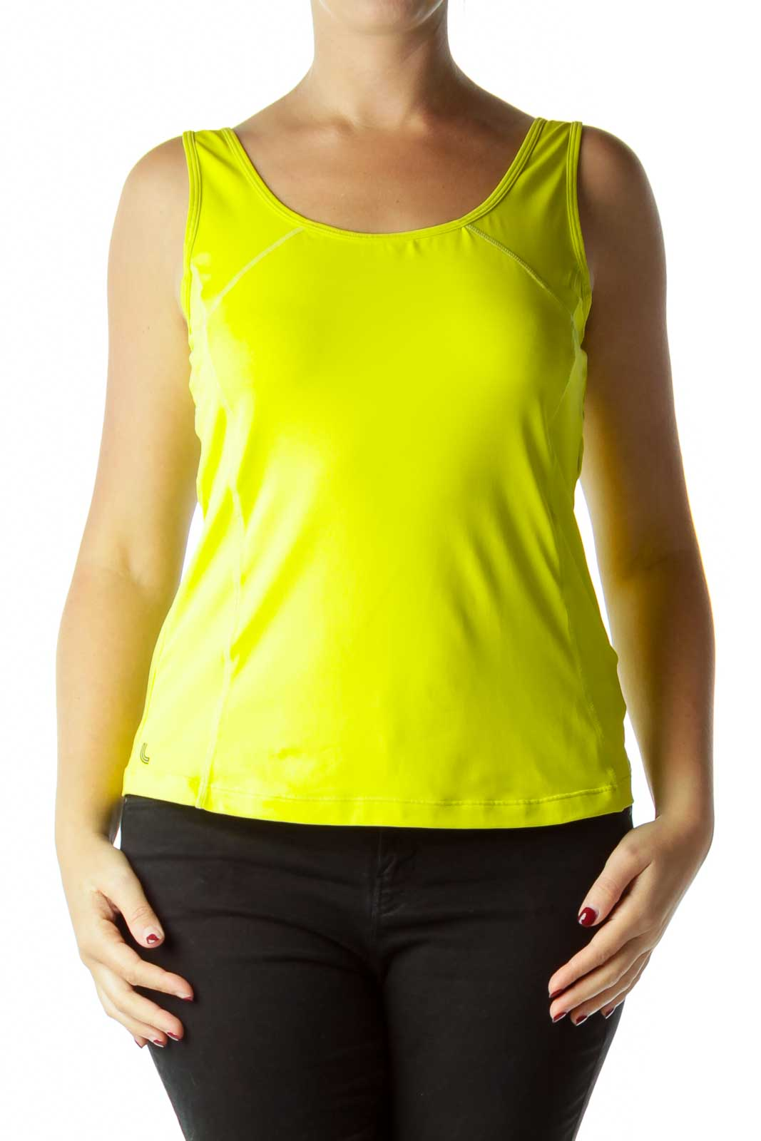 Yellow Active Tank Front