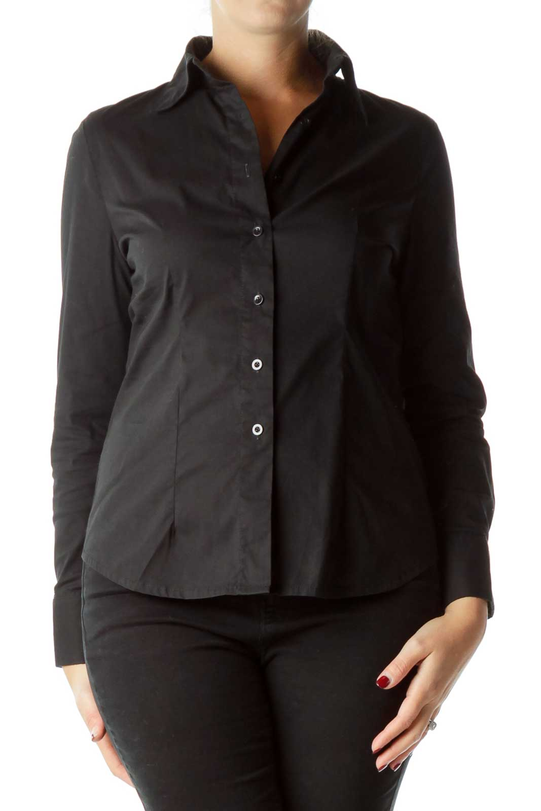 Black Work Shirt Front
