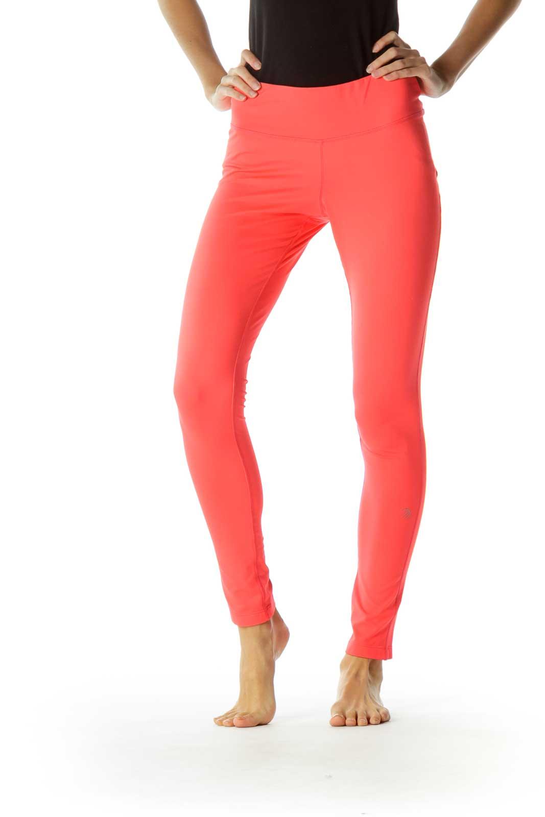 Pink Yoga Pants Front