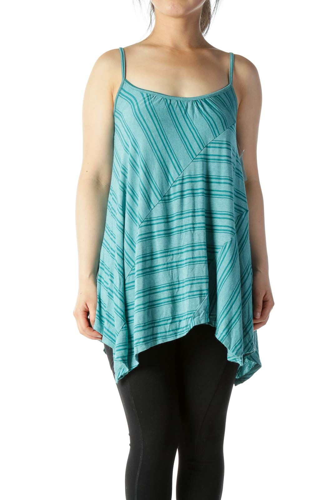 Green Print Tank Front