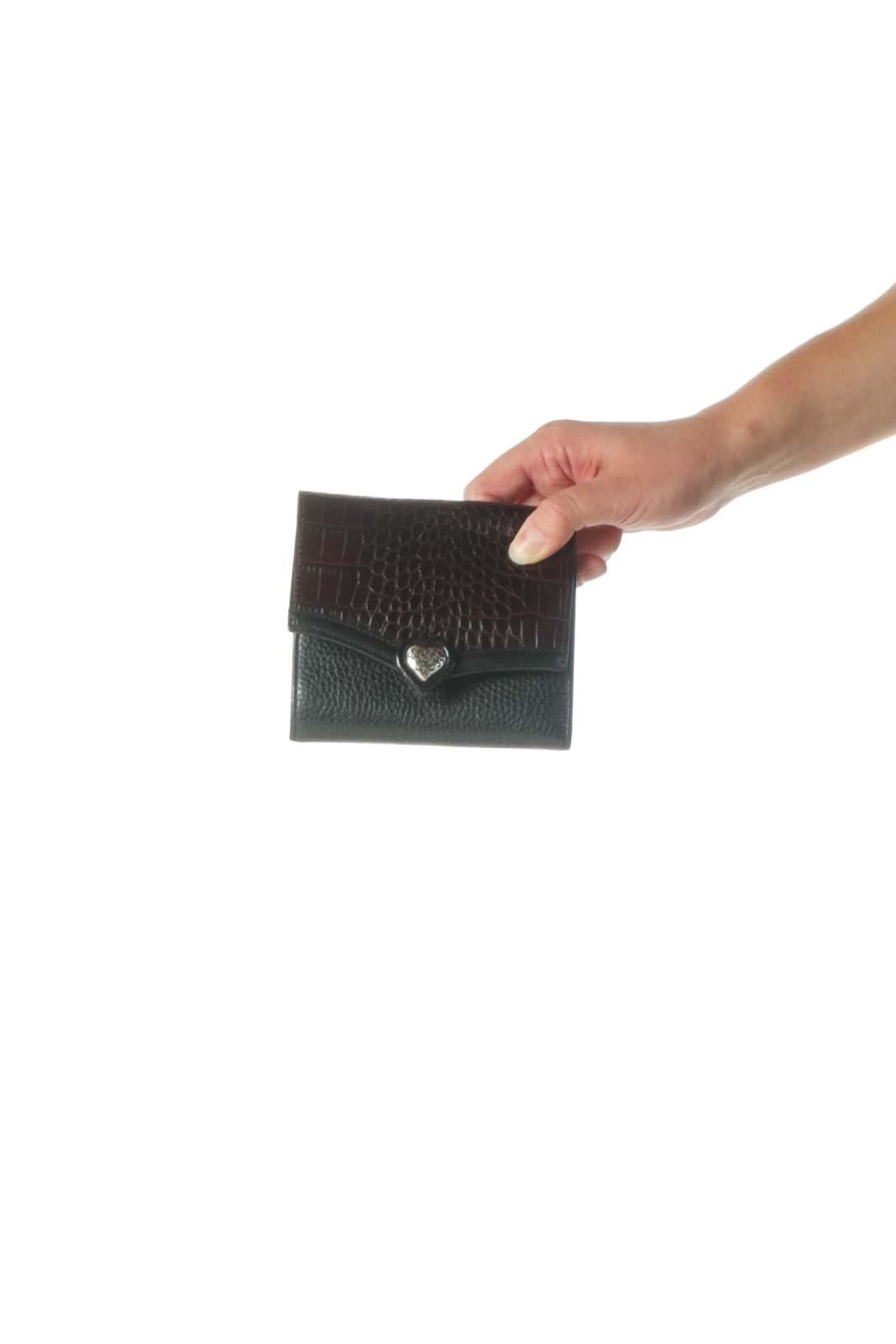 Black Wallet Front