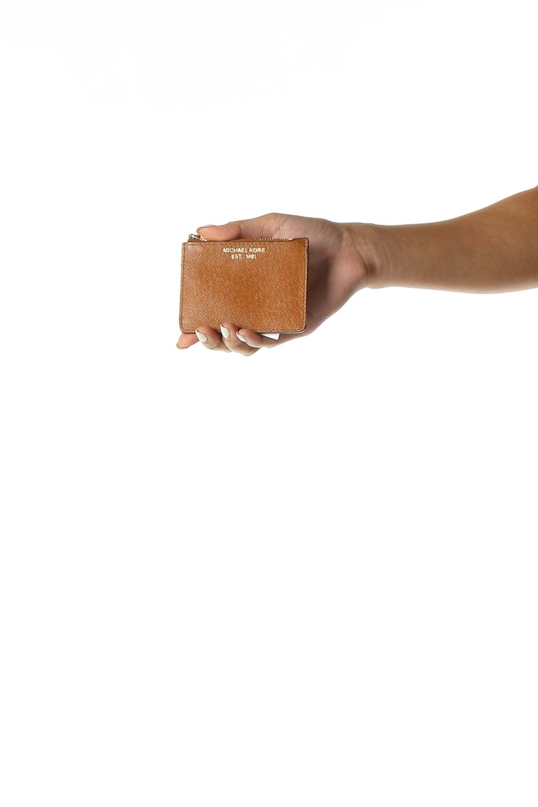 Brown Wallet Front