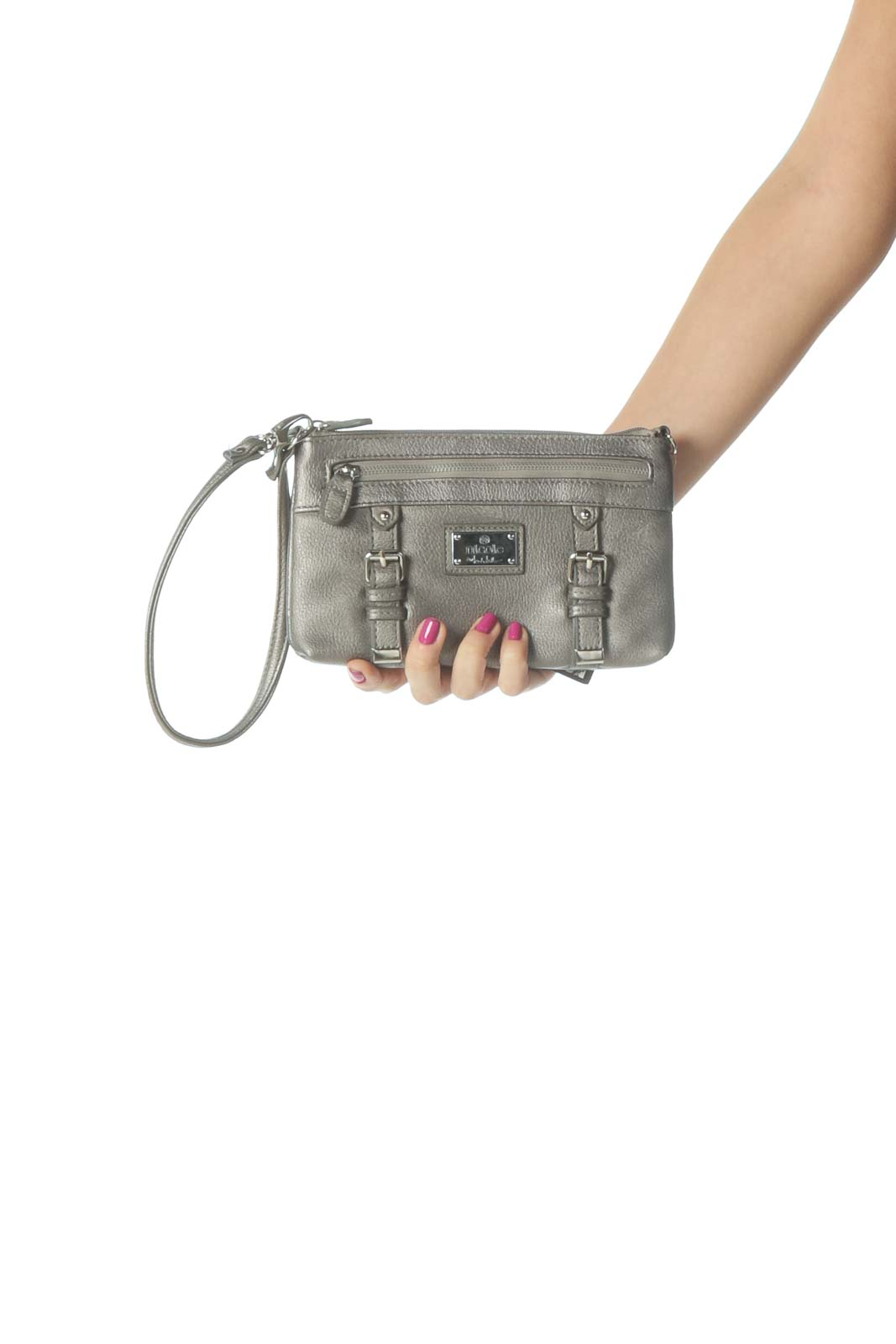 Gray Clutch Front