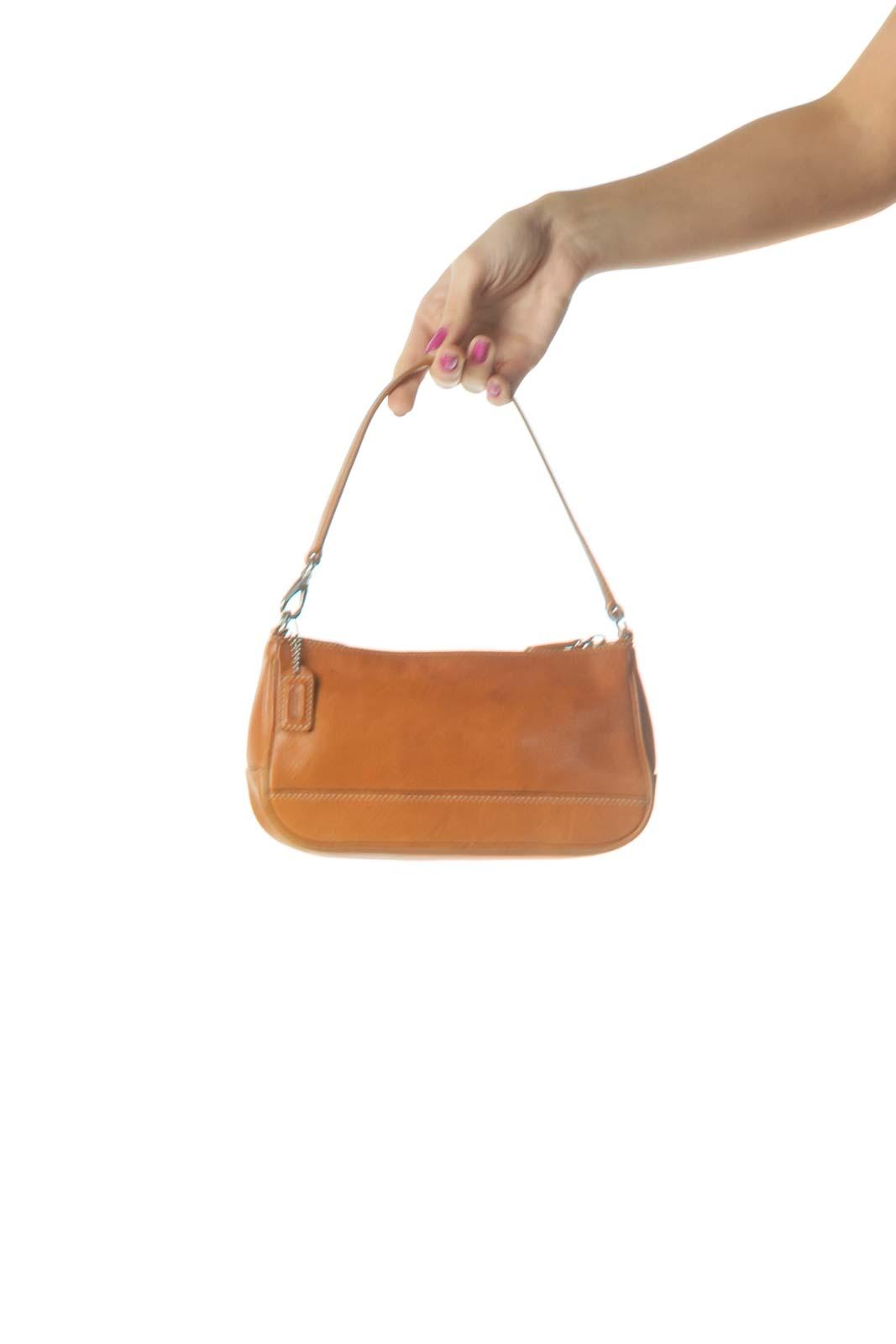 Orange Shoulder Bag Front