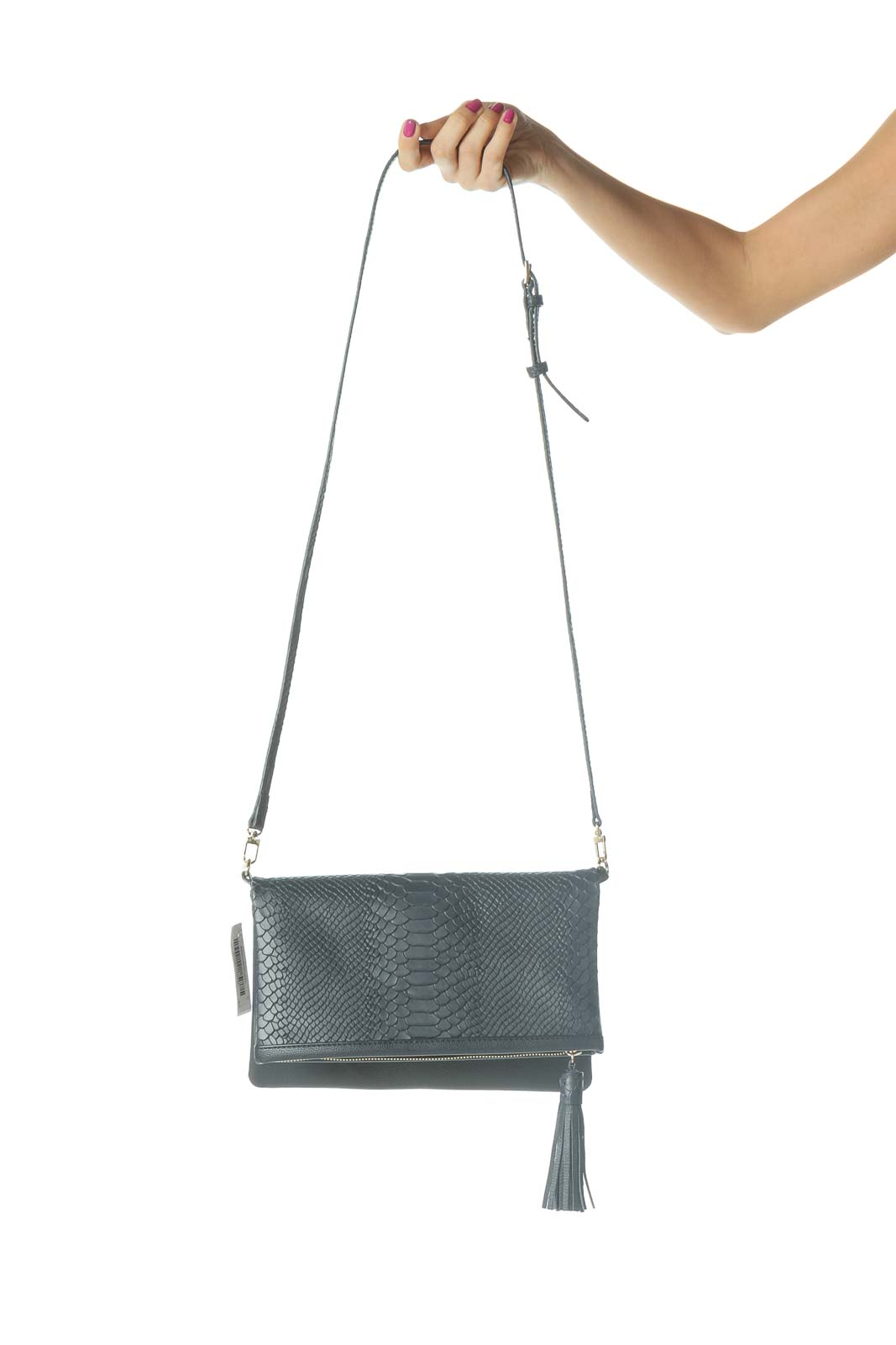 Blue Clutch Bag Front