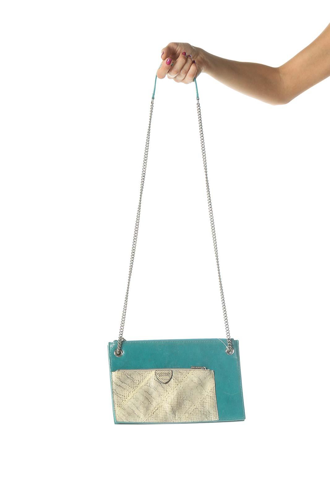 Green Crossbody Bag Front