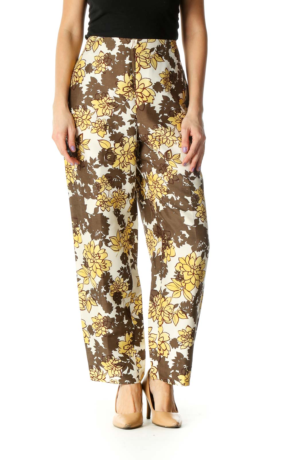 Brown Holiday Trousers Front
