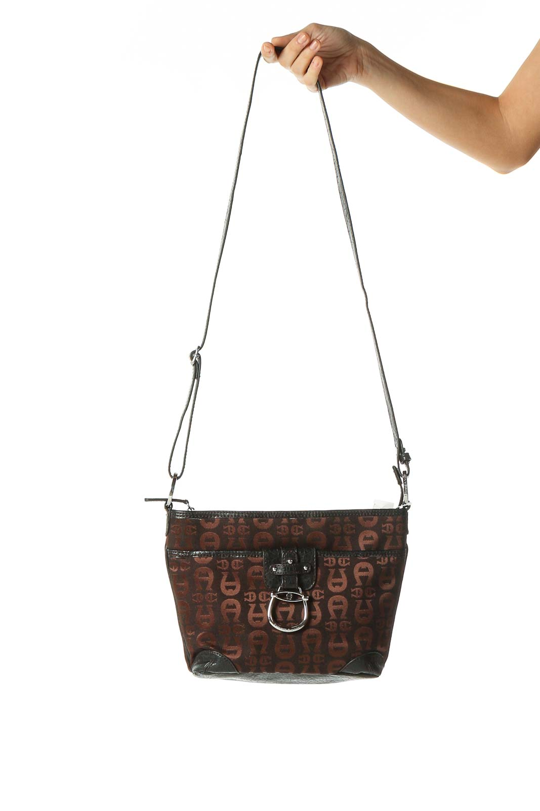 Brown Shoulder Bag Front