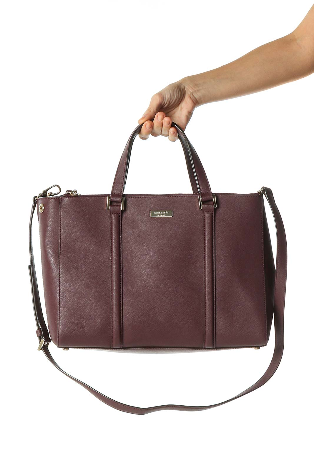 Brown Duffle Bag Front