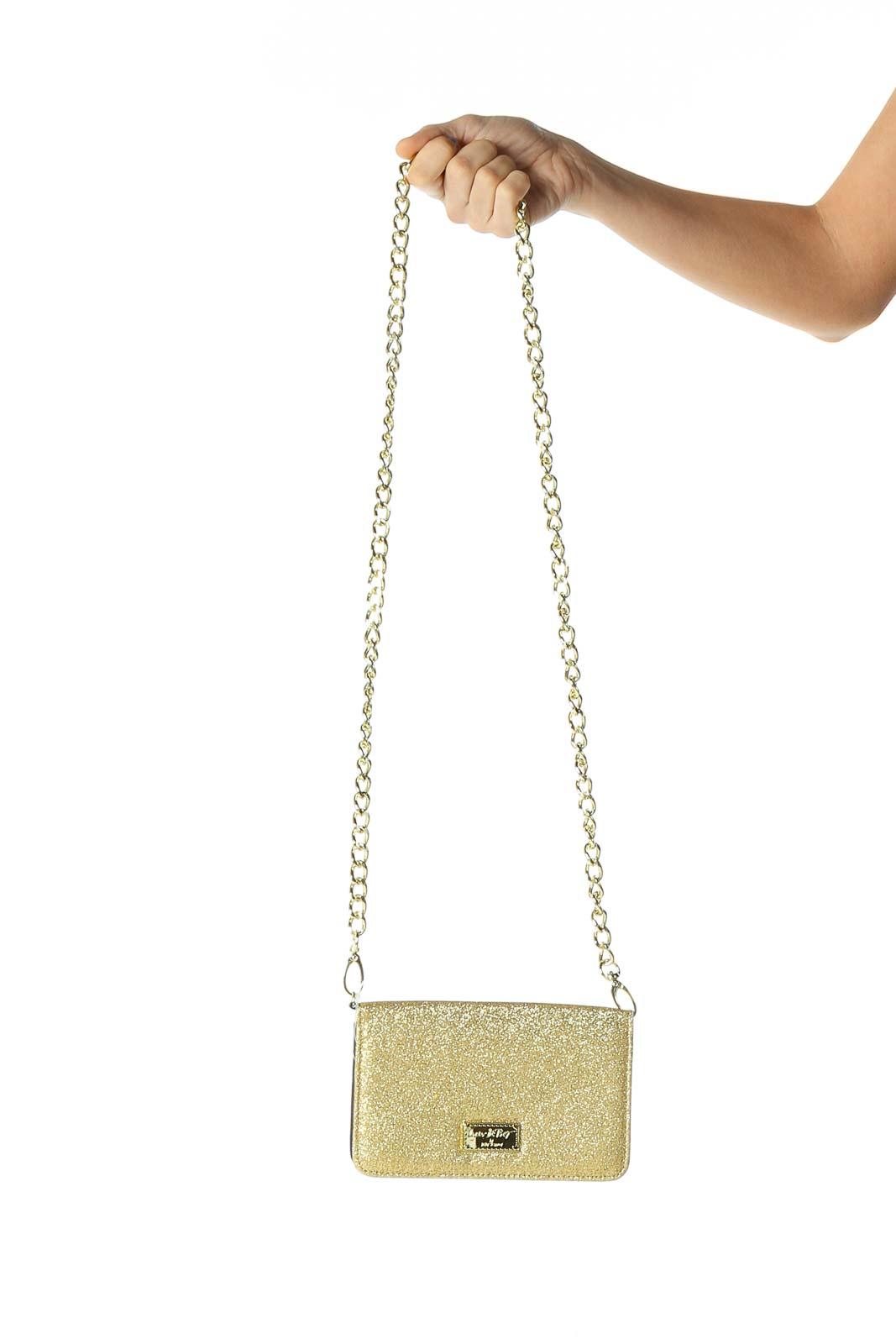 Beige Crossbody Bag Front