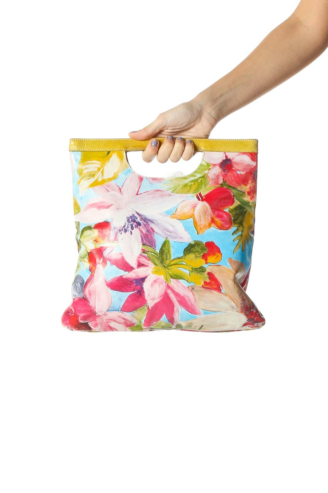 Multicolor Crossbody Bag Front