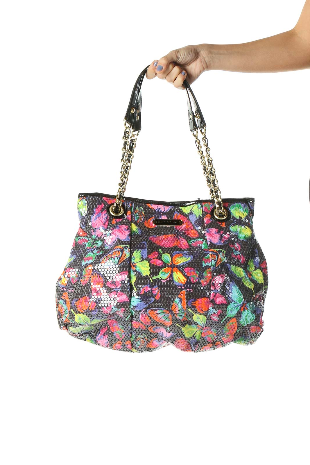 Multicolor Tote Bag Front