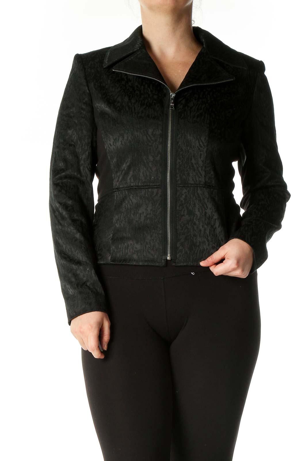 Black Jacket Front