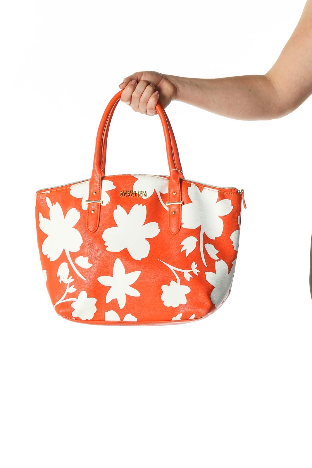 White Tote Bag Front