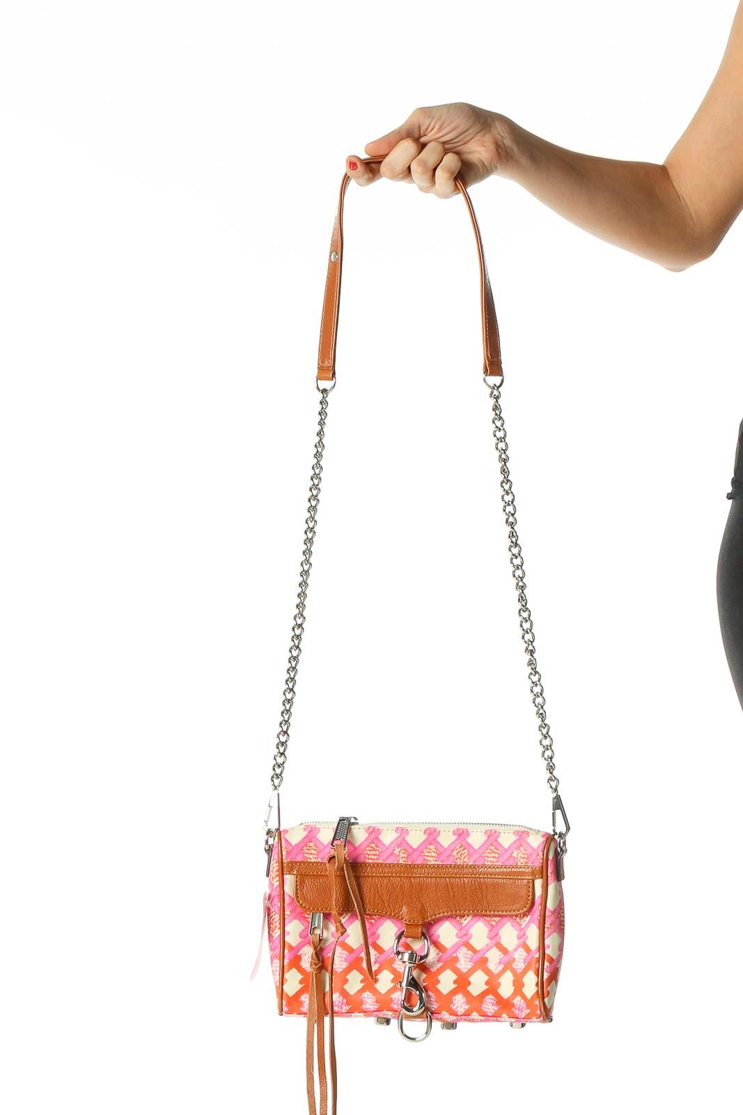 Orange Crossbody Bag Front