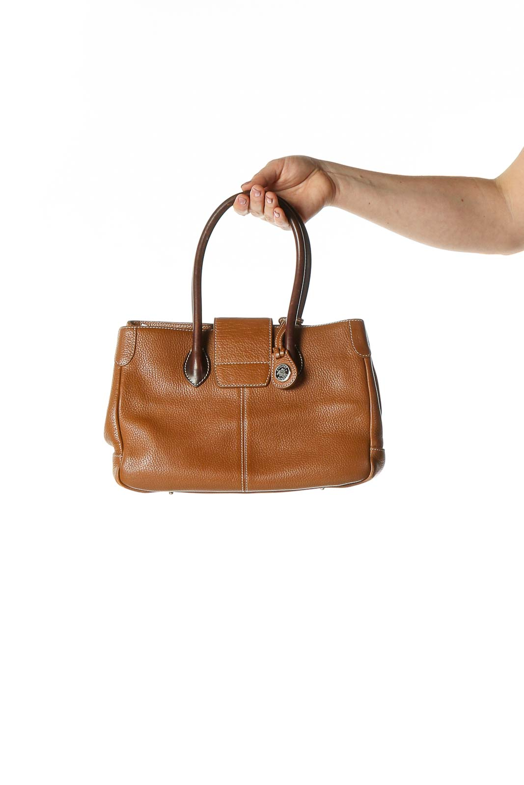 Brown Handbag Front