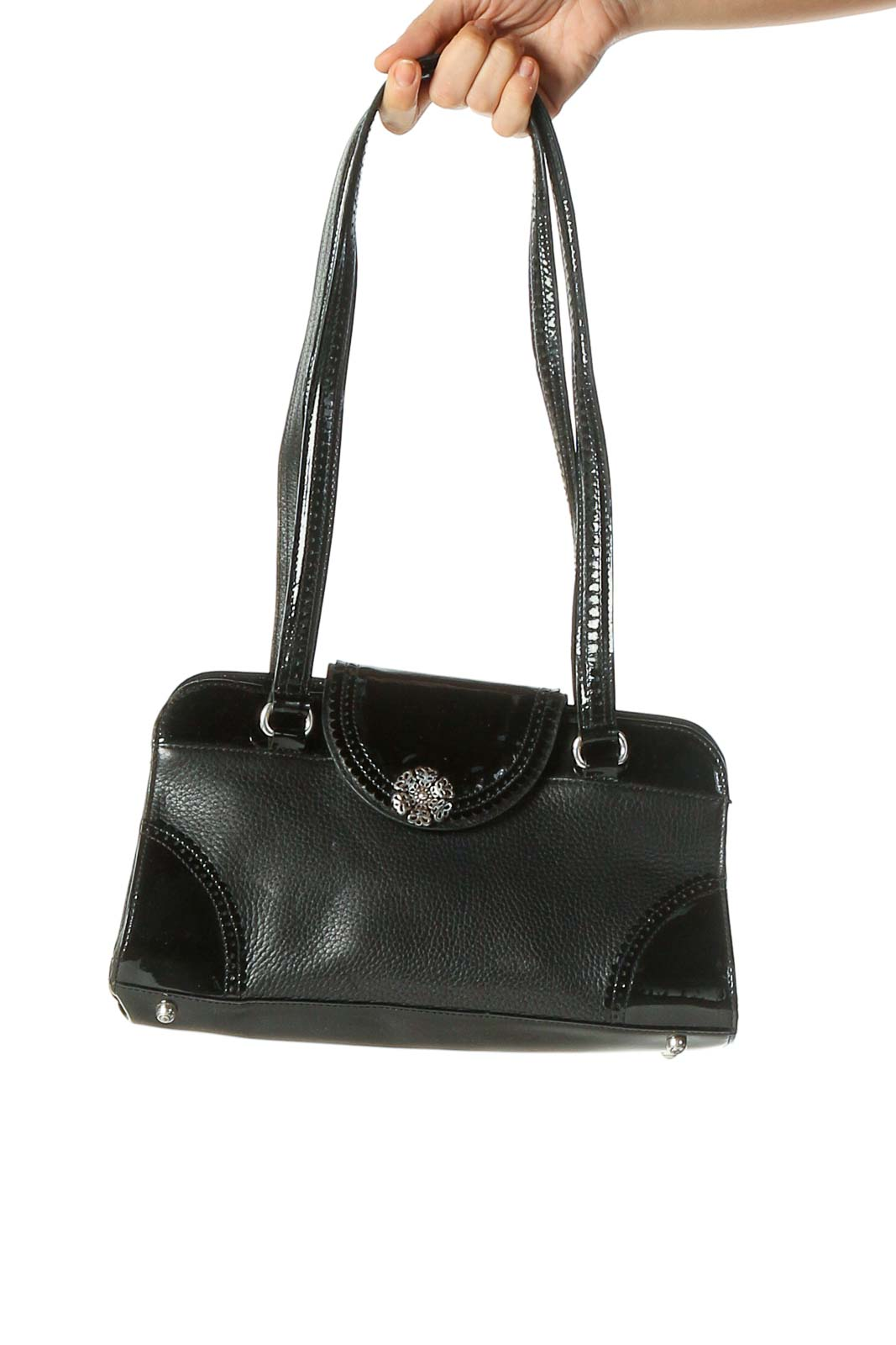 Black Shoulder Bag Front