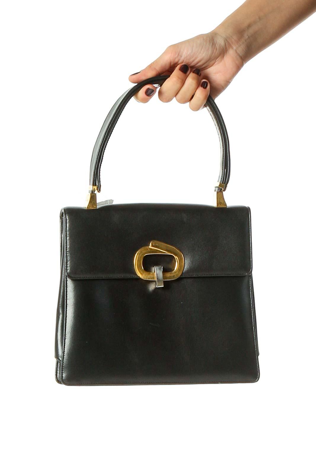 Black Handbag Front
