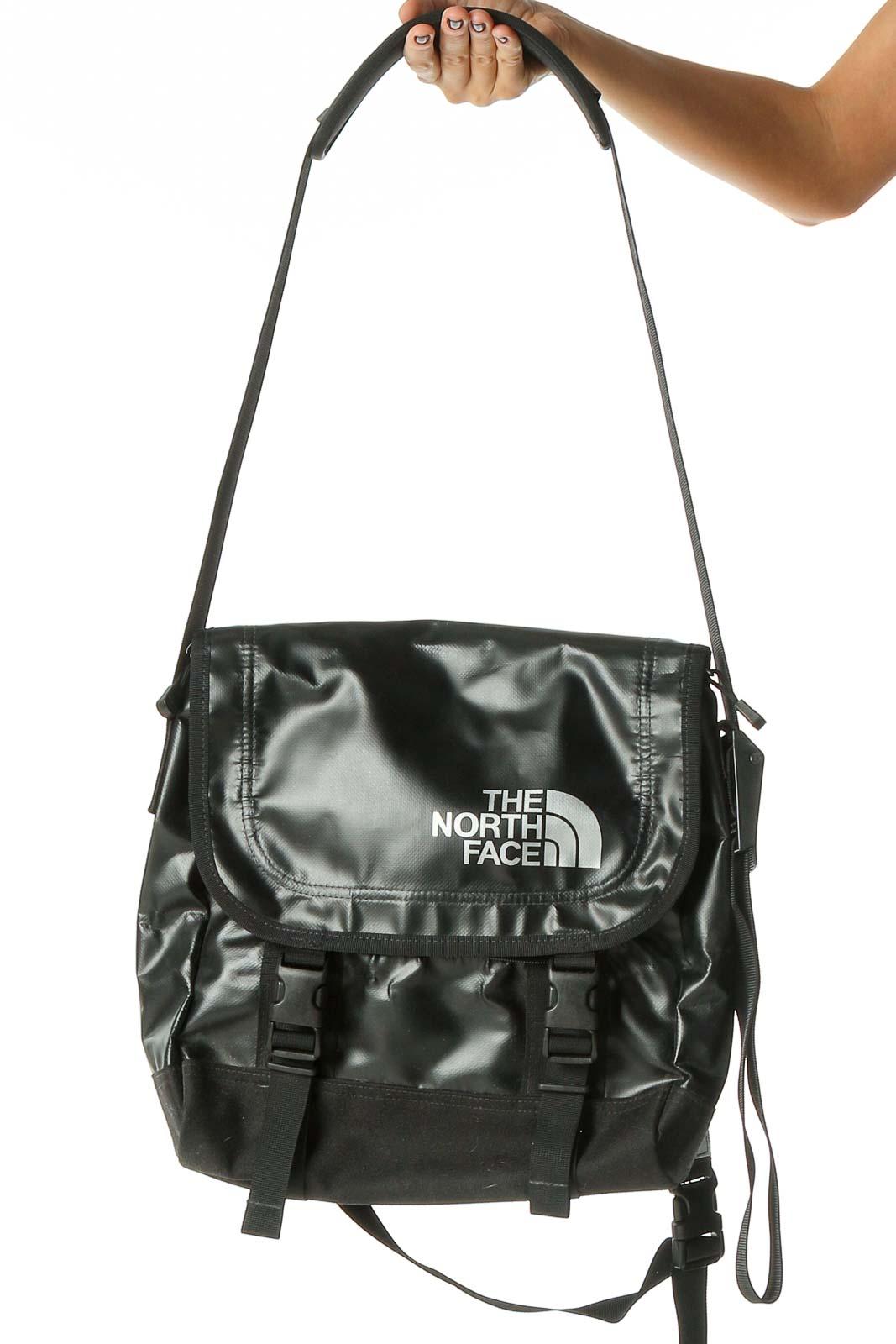 Black Messenger Bag Front