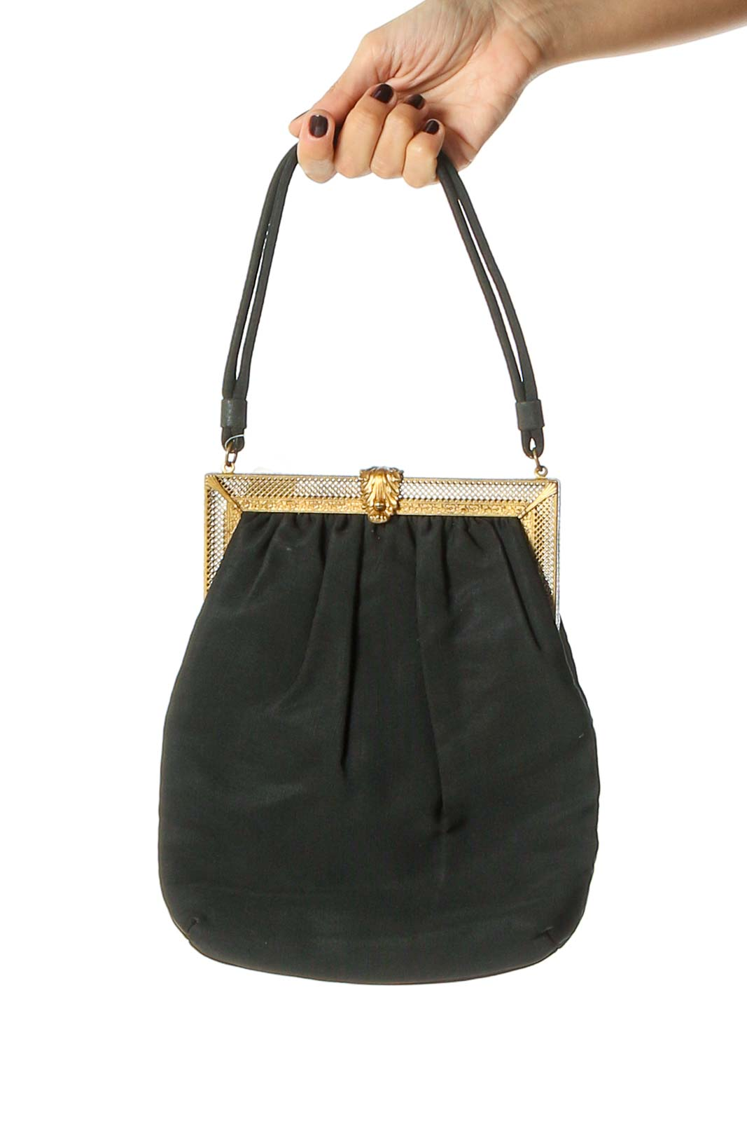Black Bucketbag Front