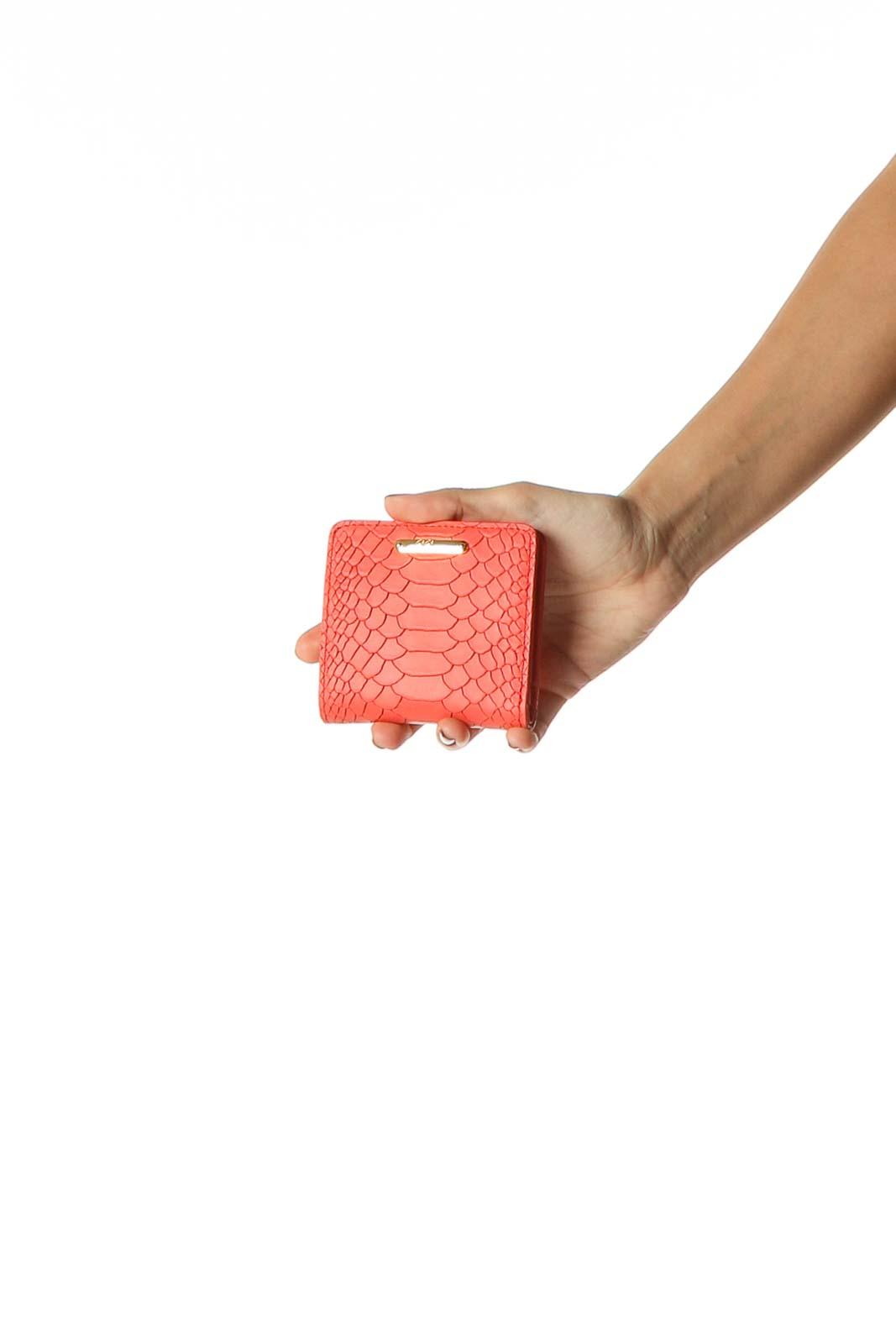 Orange Wallet Front