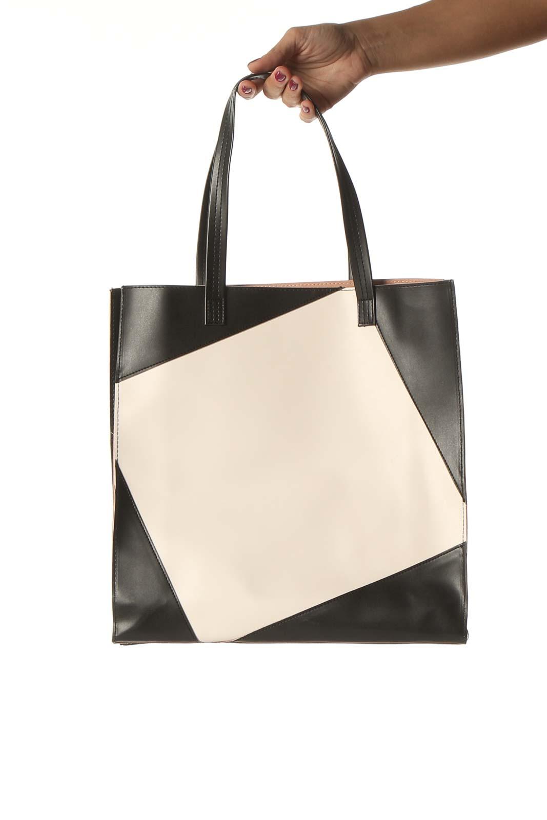 Beige Tote Bag Front