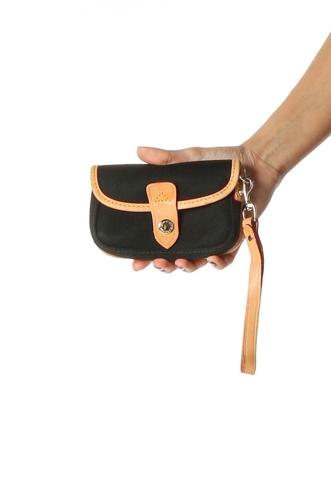 Black Wrislet Bag Front