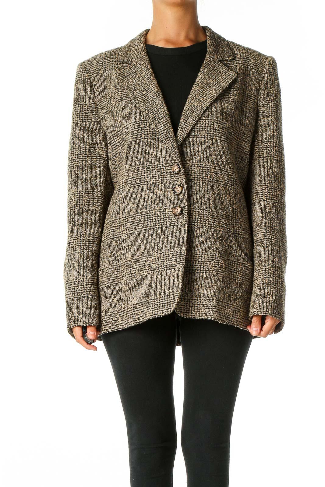 Brown Coat Front