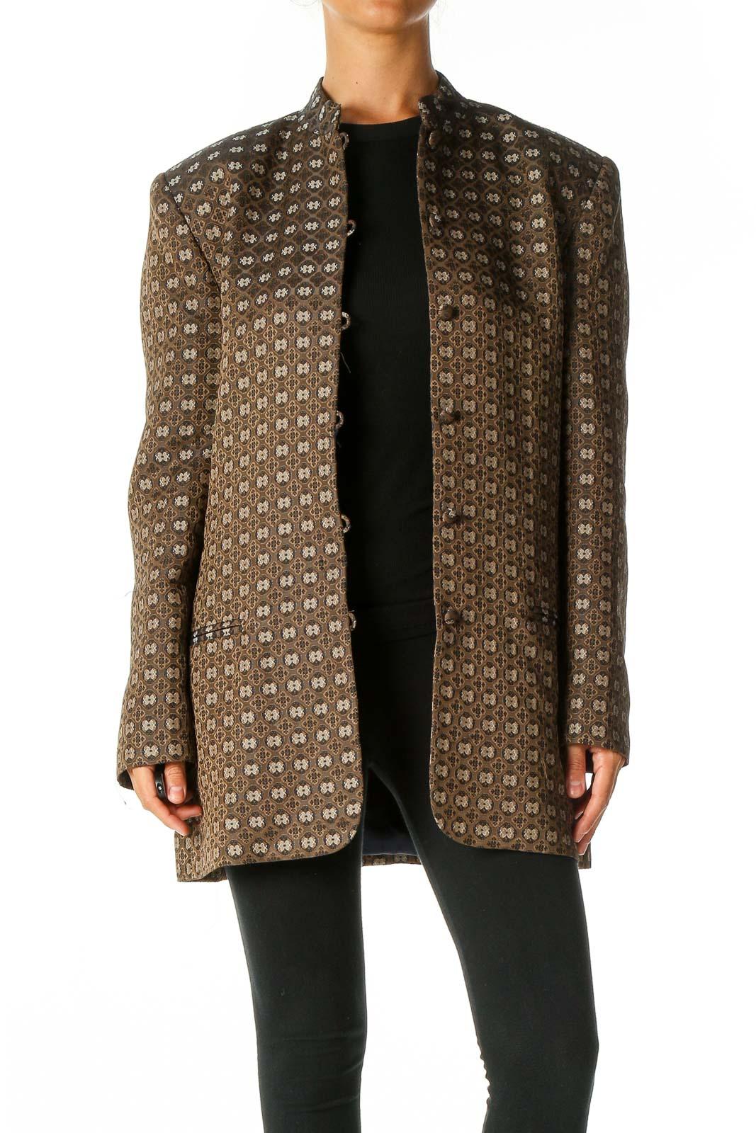Brown Overcoat Front