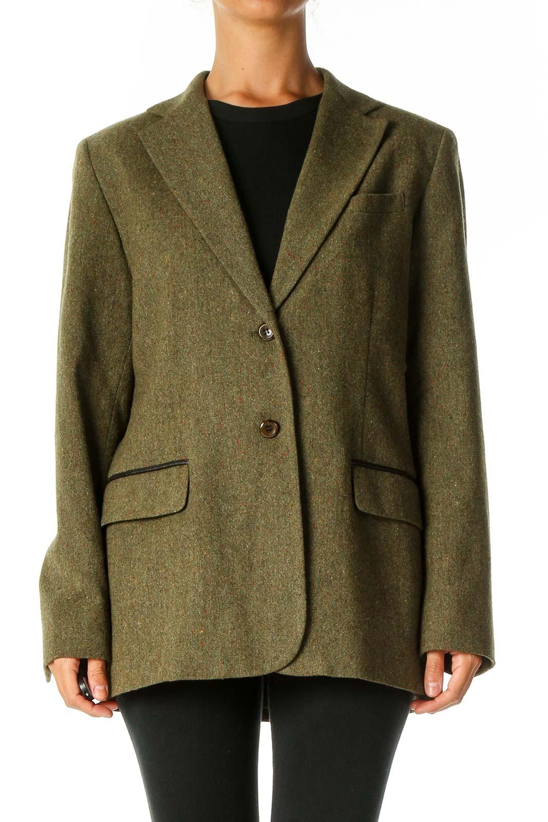Green Overcoat Front