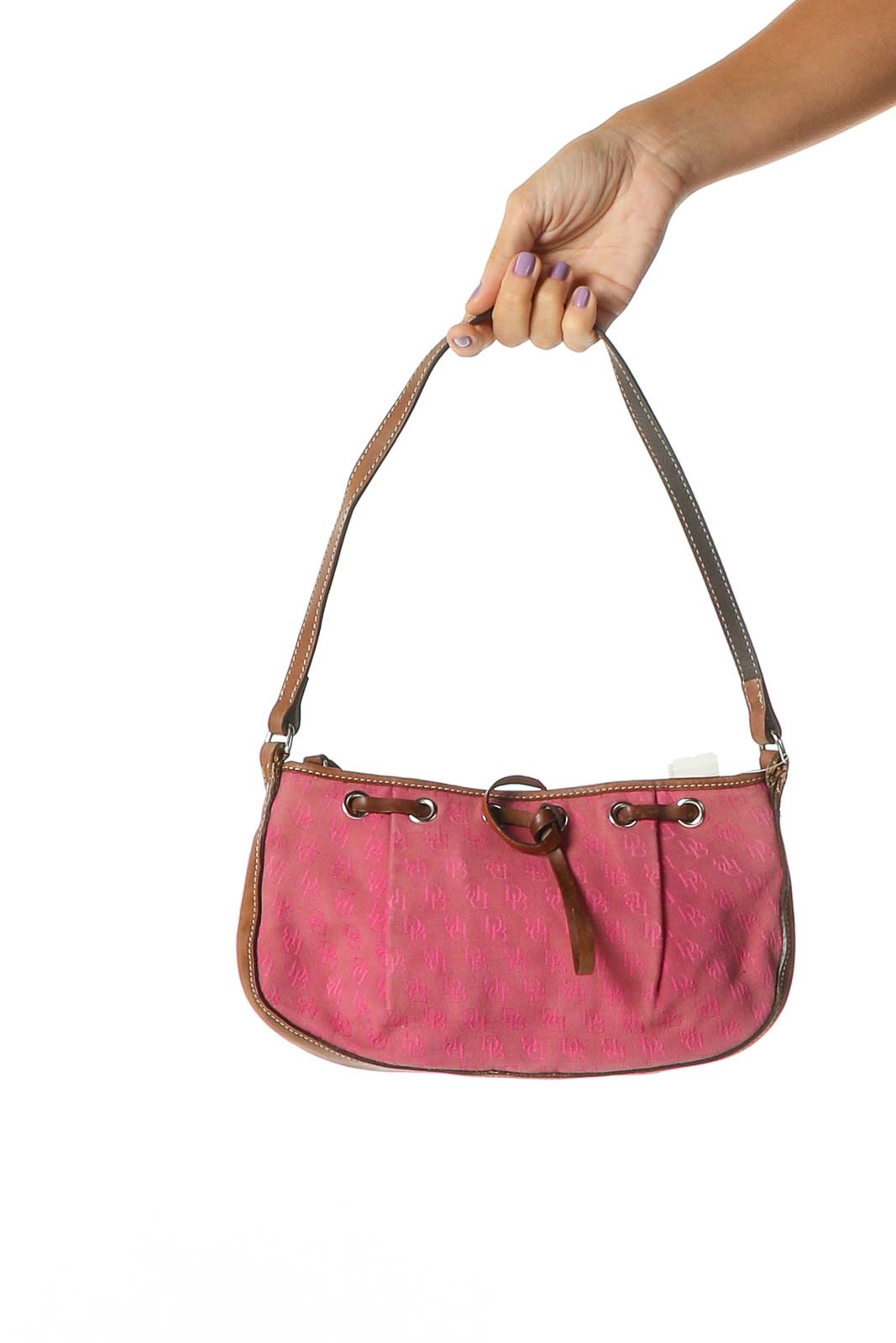 Pink Shoulder Bag Front