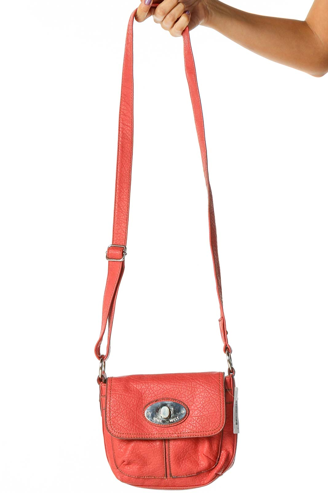 Red Crossbody Bag Front