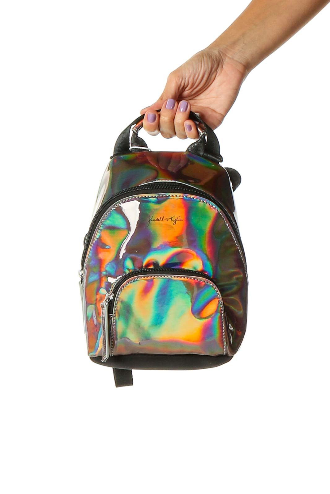 Multicolor Backpack Front