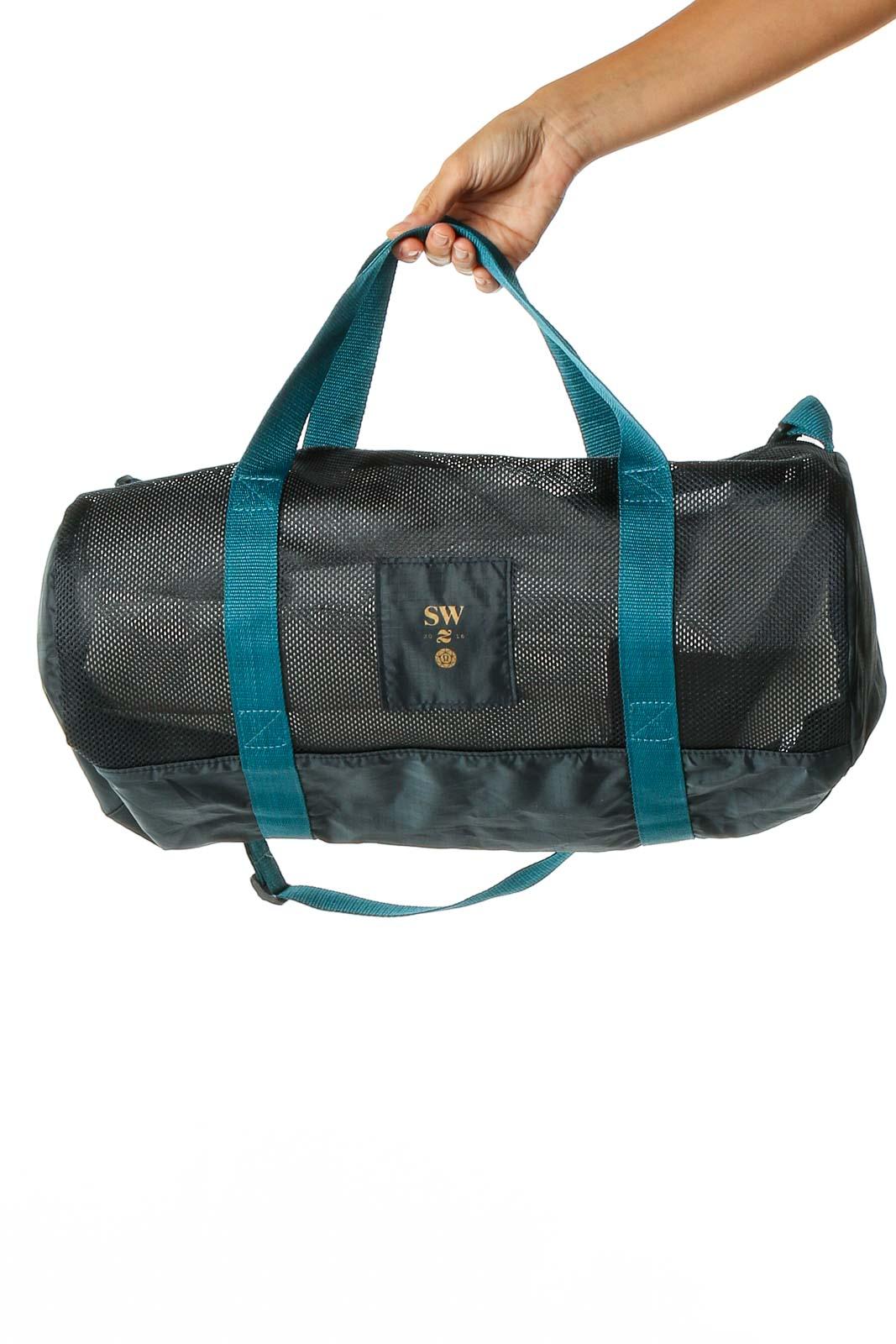 Black Gym Bag Front