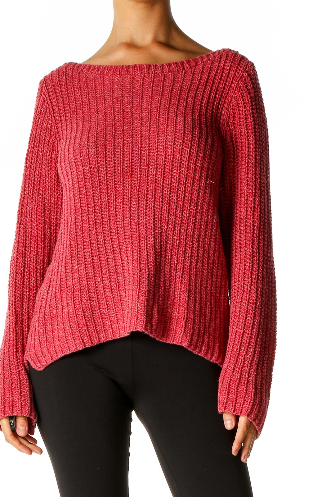 Red Retro Sweater Front