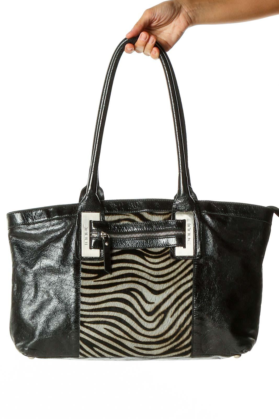 Black Shoulder Bag Front