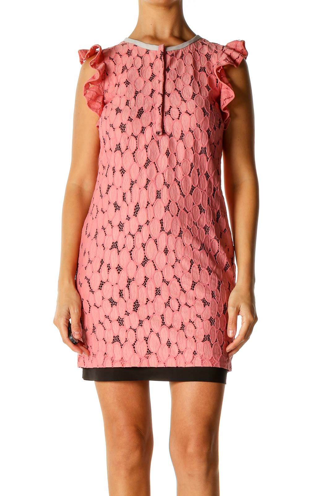 Pink Day A-Line Dress Front