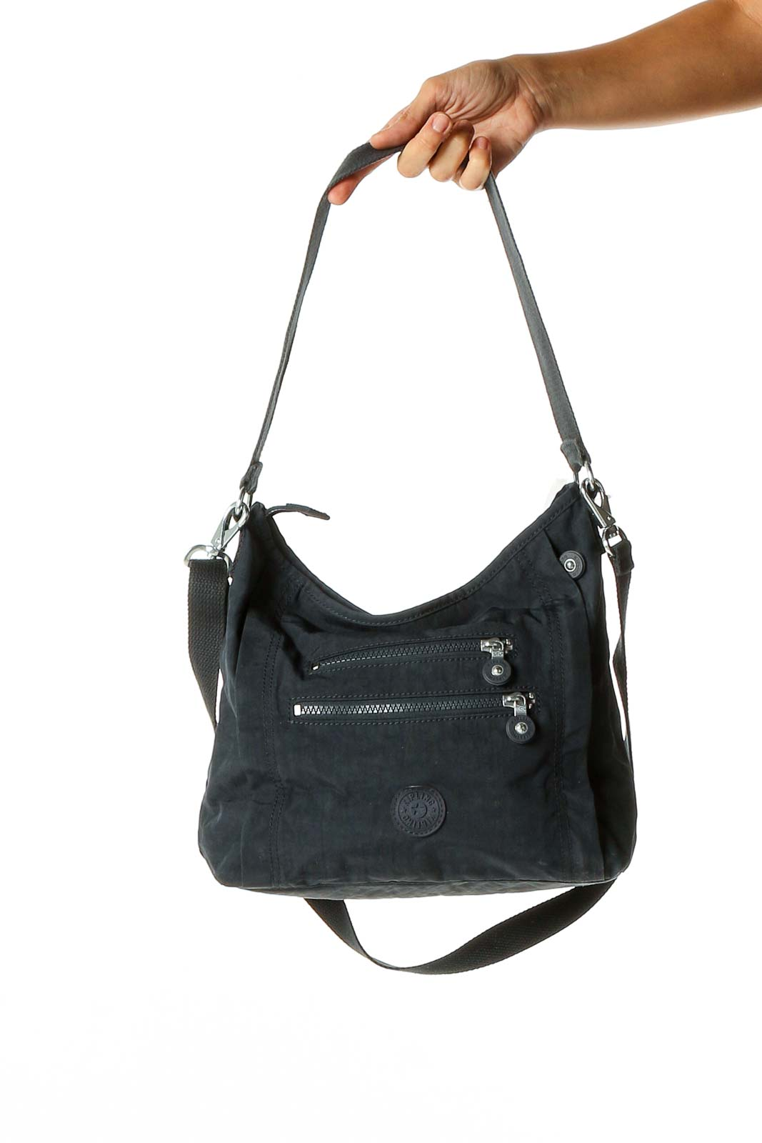 Blue Shoulder Bag Front
