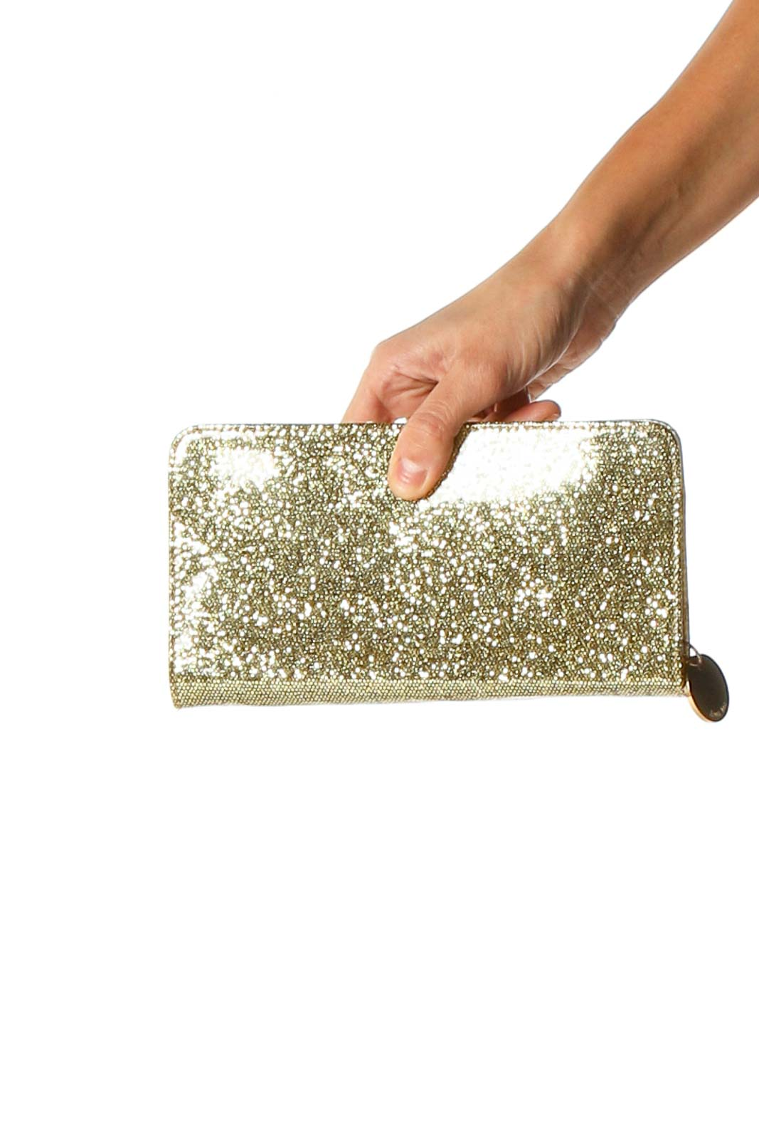 Gold Wallet Front