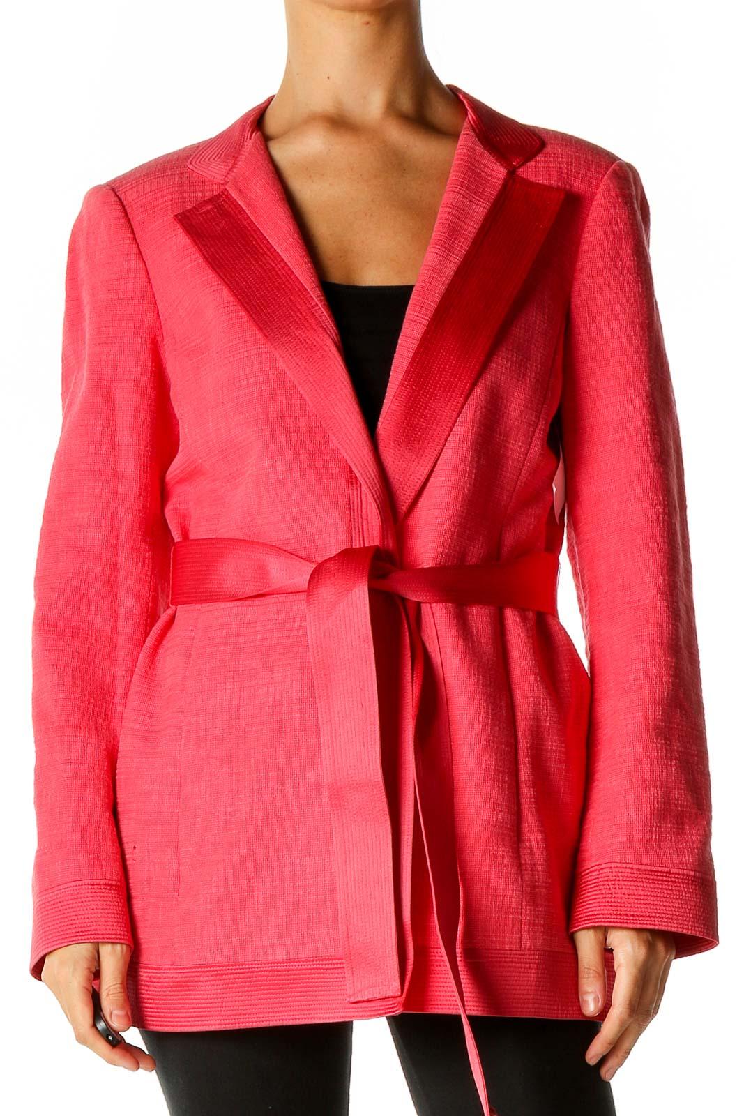 Pink Overcoat Front